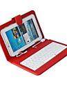 DGZ universele toetsenbord en case voor 10.1-inch Andriod tablets