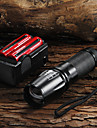 LED Flashlight 2200LM CREE XM-L T6 + 2x18650 Battery + Charger