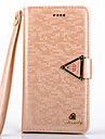 iPhone 6 Case Luxurious Diamond PU Leather Full Body Case with Kickstand and Card Slot for iPhone 6(Assorted Colors)