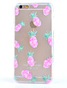 For iPhone 6 Case / iPhone 6 Plus Case Frosted / Translucent / Pattern Case Back Cover Case Fruit Soft TPUiPhone 6s Plus/6 Plus / iPhone