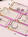 Diamond Bling Transparent Back Cover Case for iPhone 6(Assorted Colors)