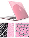 Top Quality Crystal Full Body Case with Keyboard Cover for Macbook Air 13.3 inch (Assorted Colors)