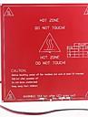 RepRap 3D принтер с печатной двойного напряжения борту нагревается кровать mk2b, поддержка 12v, 24v