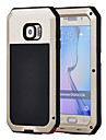 para o caso a prova de choque tampa traseira gorila de vidro a prova de agua caixa de aluminio Samsung Galaxy S6 S5 s4 s3