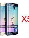 삼성 갤럭시 S6 에지 g9250위한 체육관 5PCS HD 스크린 필름