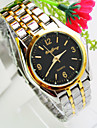 Men\'s Explosion Round Dial Steel Strap Fashion Business Quartz Watch (Assorted Colors)