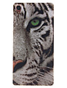 Pour Coque Sony / Xperia Z3 Motif Coque Coque Arriere Coque Animal Flexible TPU pour Sony Sony Xperia Z3 / Sony Xperia M2