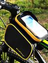 CoolChange® 자전거 가방 3L자전거 프레임 백 자전거 배낭 백팩 악세사리 비 방지 반사 스트립 미끄럼 방지 싸이클 가방 Terylene 싸이클 백LG G3 iPhone 5/5S Iphone 6 Plus/6S Plus/7 Plus 전체