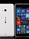 Para Capinha Nokia Ultra-Fina / Transparente Capinha Capa Traseira Capinha Cor Unica Macia TPU Nokia Nokia Lumia 830 / Nokia Lumia 535