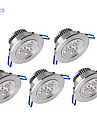 5pcs  6W 500-550LM Support Dimmable LED Panel Lights LED Ceiling Lights