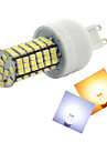 1 pcs Ding Yao G9 12W 144X SMD 3528 500-600LM 2800-3500/6000-6500K Warm White/Cool White Corn Bulbs AC 220-240V