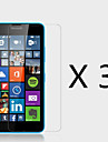 (3 pecas) protetor de tela de alta definicao para Lumia 640 microsoft