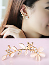 HUALUO®Korean Petals Diamond Ear Bones Clip