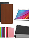 9.6 Inch Triple Folding Pattern High Quality PU Leather Case for Huawei MediaPad T1 10(Assorted Colors)