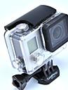 אביזרים לגו פרו מסגרת חלקה / נרתיק הגנה / תושבת עמידה במים / מתלה עמיד במים, ל-מצלמת פעולה,Gopro Hero 3+ / Gopro Hero 4 1pcsסגסוגת