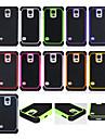fodbold mønster 3in1 pc + silikone tilfældet for Samsung Galaxy s5 / s4 / s3 / s5 mini / s3 mini tilfælde dække (aorted farve)