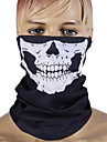Unisex Face Mask Black General Seamless Outdoor Skull Tube