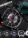 WEIDE Men Fashion Analog Digital Sport Watch Rubber Strap Stopwatch/Alarm Backlight/Waterproof