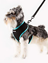 URBAN PAWS Airmesh Breathable Adjustable Pet Harness with Solid Color  for Dogs & Cats  (Assorted Colors and Sizes)