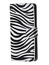 Зебра шаблон PU кожаный жесткий чехол с подставкой для Samsung Galaxy Примечание 5/5 Примечание EDGE / примечание 4 / примечание 3 /