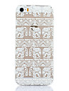Elephant Pattern Hard Back Case for iPhone 5/5S
