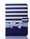 motif bowknot cuir PU cas complete du corps avec support pour iPad mini-1/2/3