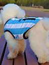 Cat Dog Shirt / T-Shirt Jersey Dog Clothes Cosplay Wedding Stripe Letter & Number Blue