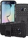 Para Samsung Galaxy Capinhas Carteira / Antichoque / Com Suporte / Flip Capinha Capa Traseira Capinha Armadura PC para SamsungS7 edge /