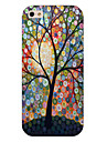 Dot Tree Pattern Phone Back Case Cover for iPhone5C