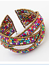 Manchettes Bracelets Original Mode Boheme Ajustable Perle Ouvert bijoux de fantaisie Bijoux Bijoux Pour Soiree