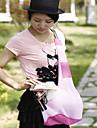 Кошка Собака Переезд и перевозные рюкзаки Слинг Животные Корпусы Компактность Складной Красный Черный Голубой Розовый Пурпурный Терилен