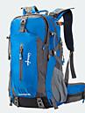 50 L 백패킹 배낭 자전거 배낭 여행 더플 백팩 커버 캠핑 & 하이킹 등산 여행 방수 비 방지 랩탑 배낭 착용할 수 있는 다기능 나이론 메쉬 Terylene OSEAGLE
