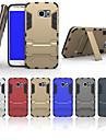 용 삼성 갤럭시 케이스 충격방지 / 스탠드 케이스 뒷면 커버 케이스 갑옷 PC Samsung S6 edge plus / S6 edge / S6 / S5