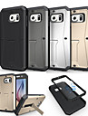 Pour Samsung Galaxy Coque Antichoc Avec Support Coque Coque Arriere Coque Armure Polycarbonate pour Samsung S6