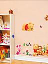 multifuncion cachorros pvc bricolaje y patron de tigre pegatinas decorativas