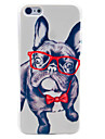 Happy Dog Pattern Hard Case for iPhone 5C