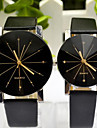 Couple's Korean Fashion Strip Belt Personality Gear Dial Circular Quartz Watches Cool Watches Unique Watches