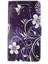 Pour Coque Nokia Portefeuille / Porte Carte / Avec Support Coque Coque Integrale Coque Fleur Dur Cuir PU Nokia Nokia Lumia 640