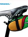 ROSWHEEL® Велосумка/бардачок 0.8LСумка на бока багажника велосипедаВодонепроницаемый / Водонепроницаемая застежка-молния / Ударопрочность