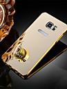 Pour Samsung Galaxy Note Plaque Coque Coque Arriere Coque Couleur Pleine Metal Samsung Note 5