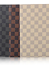 7.9 Inch Grid Pattern High Quality PU Leather Case for iPad Mini 4(Assorted Colors)