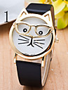 Ladies's Watch The Latest Sven Fashion Cat Quartz Strap Watch Cool Watches Unique Watches