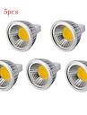 5pcs  3W MR16 250LM Warm/Cool White Light LED COB Spot Lights(12V)