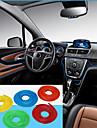 стикер автомобиля наклейки украшения нить авто Салоны крытый автомобильной оформление интерьера линия 5m / шт
