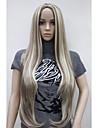 жен. Парики из искусственных волос Без шапочки-основы Очень длинный Прямые Карнавальные парики