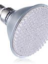 8W E26/E27 LED лампа для теплиц 168 Высокомощный LED 800LM lm Красный Синий Декоративная AC 220-240 V 1 шт.