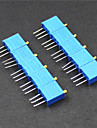 3296 resistances potentiometre 3 broches 10kohm reglables - bleu (10 pieces)