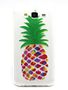 pineapple Pattern TPU Relief Back Cover Case for Galaxy J5