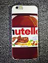maycari® el delicioso chocolate suave de TPU transparente trasera para el iPhone 5 5s / iphone