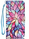 Flower Painted PU Phone Case for iPhone 7 7 Plus 6s 6 Plus SE 5s 5c 5 4s 4